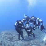 ブルーブルーの体験ダイビング