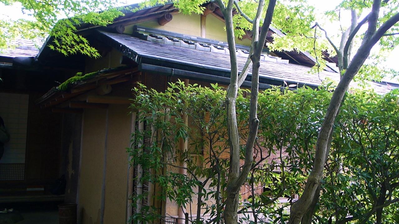 足立美術館の寿立庵